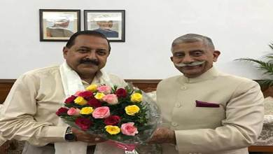 Photo of Arunachal Governor meets HRD and DoNER Ministers