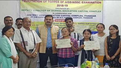 Photo of Itanagar: DC felicitates toppers of Capital Complex