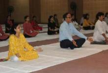 International Day of Yoga celebrated at Royal Global University
