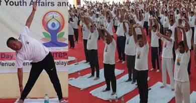 International Yoga Day celebrated throughout Arunachal Pradesh