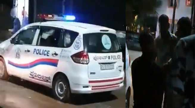Video of Karnatak police misbehaving with Arunachalee students goes viral