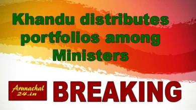 Photo of Arunachal: Pema Khandu distributes portfolios to his ministers