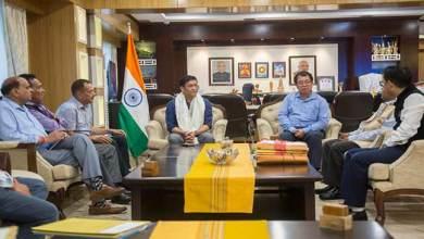 Photo of Arunachal: APPSC Chairman Nipo Nabam called on CM Pema Khandu