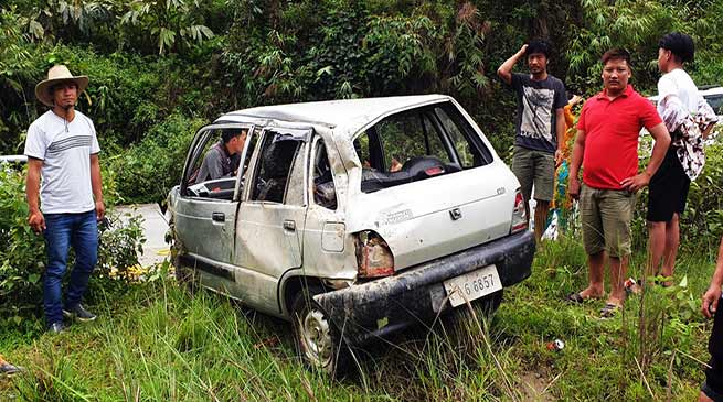 Arunachal: Mother, son critically injured in a road accident