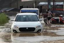 Heavy downpour created havoc in twin capital city