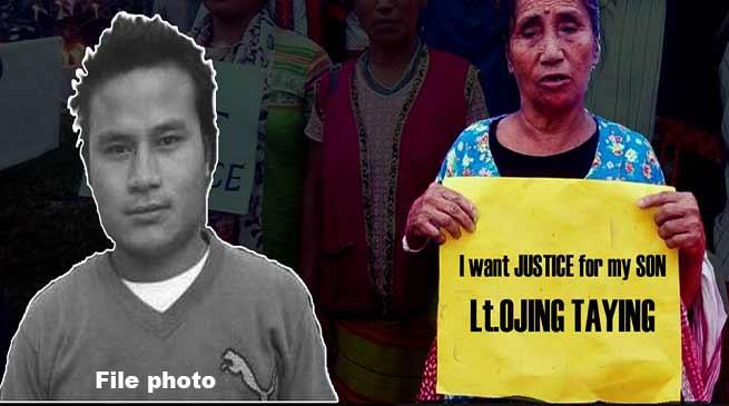 Ojing Taying murder case: Family members meet with CM, submits memorandum
