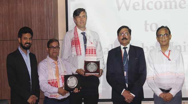 Assam: Possible collaboration between University of Leeds, UK and Royal Global University