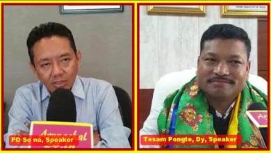 Photo of Arunachal: PD Sona, Tesam Pongte vows for development