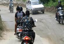 Photo of Itanagar: Man in uniform violates traffic rules