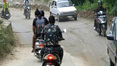 Photo of Itanagar: Man in uniform violates traffic rules