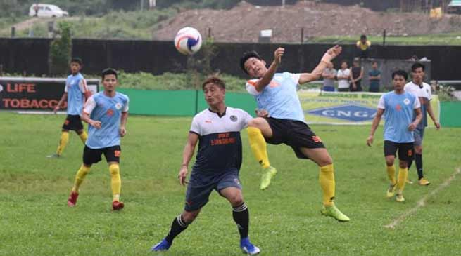 2nd Jully Super 16 Championship- Riang United FC defeated Kampung Kamyer FC by 2-1