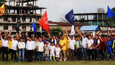 Photo of Arunachal: 3rd Tage Raja Memorial Football Tournament begins