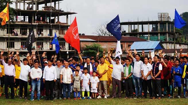 Arunachal: 3rd Tage Raja Memorial Football Tournament begins