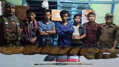 Photo of Arunachal:Changlang police apprehended 4 NSCN (K-YA) members of Burmese nationality