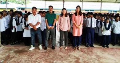 AAPSU women wing visits changlang schools
