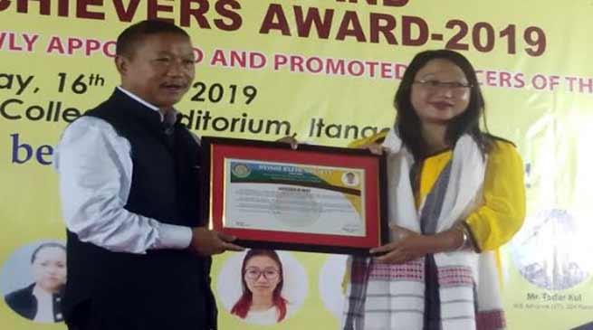 Arunachal: Nyishi Elite Society felicitates meritorious students