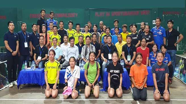 Itanagar: Capital Complex Inter-Club Badminton Championship-2019 begins