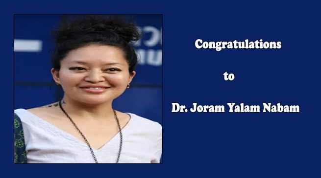 Dr. Joram Yalam Nabam 12th Ayodhya Prasad KhatriI Smriti Award -2019