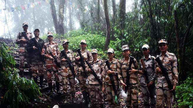 ITBP Mahila Personnel Dominates Indo-China Border in Arunachal Pradesh