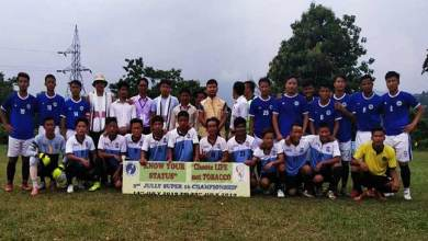 Photo of Itanagar: Quarter – Final of 2nd Jully Super 16 Football Championship 2019