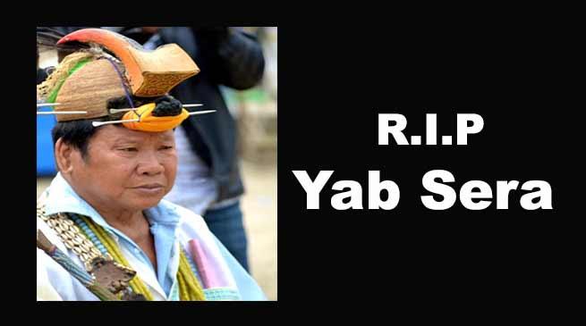 Arunachal: Yab Sera, GB of Rono village passes away