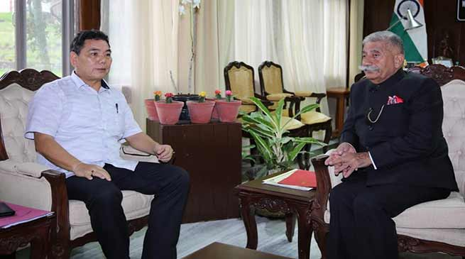 Arunachal: Health minister calls on the Governor