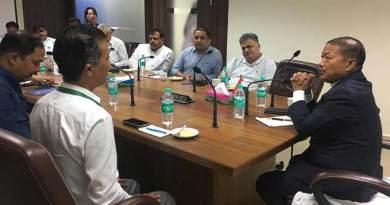 Arunachal: Bamang Felix woos corporate bodies