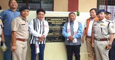 Arunachal: Felix inaugurates new building of Doimukh PS