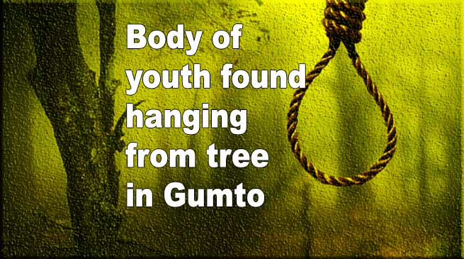 Arunachal: Body of youth found hanging from tree in Gumto