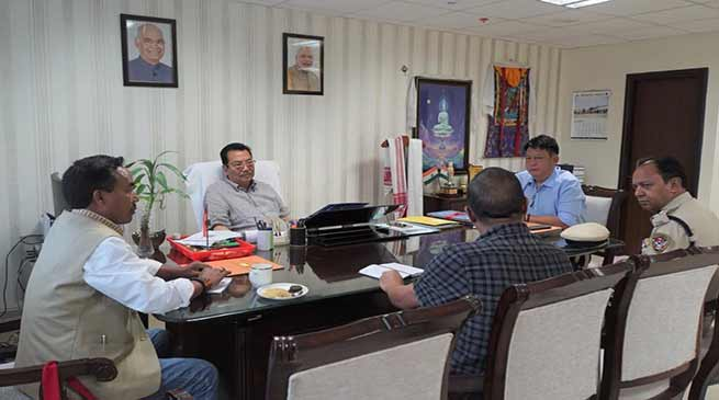 Arunachal: Mein asks RWD to expedite construction of Miao-Vijaynagar Road