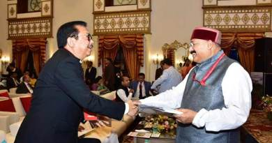 Arunachal DCM Chown Mein attends Himalayan State conclave