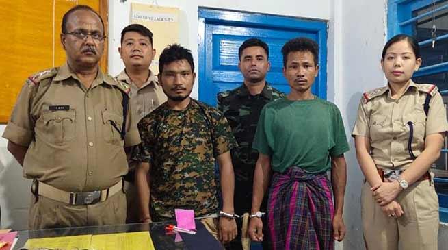 Arunachal: Namsai Police arrested one Drug peddler with contraband