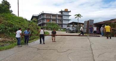 Itanagar: Man electrocuted, electric pole fell down at AboTani-Niti Vihar road