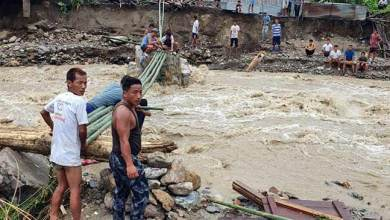 Photo of Arunachal: Heavy rain, flash flood, create havoc, 1 body recovered several missing