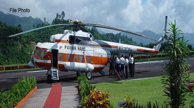 Naharlagun: Tall buildings, Mobile Towers posing threat for helicopter landing and takeoff