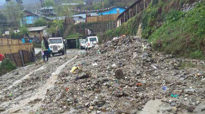 Itanagar: Heavy rain, landslide forces schools to shut in twin capital city
