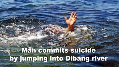 Photo of Arunachal: Man commits suicide by jumping into Dibang river