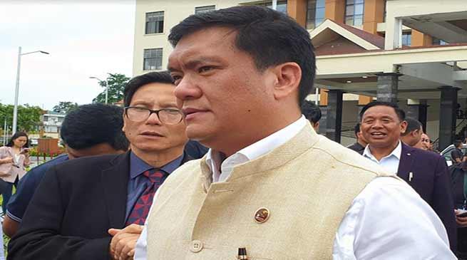 Arunachal: Construction of Potin-Pangin (TAH) is a concern of state govt-Pema Khandu