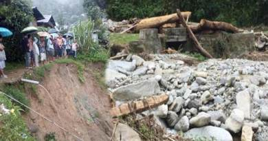 Arunachal Rains update: bridge washed away in Lumla, effected Hydel stations