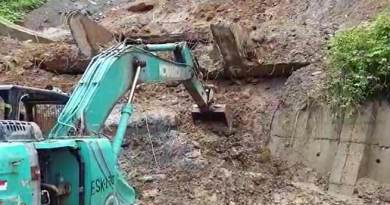Itanagar: PWD Starts clearing landslides from different parts of Capital complex