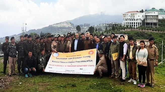 Arunachal: DTCC Tawang organised Review cum Re-orientation Meeting of NTCP