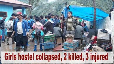 Photo of Arunachal: 2 killed, 3 injured after girls hostel collapses in Lungla