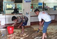 Itanagar: Rain water enters shops, bank premises due to poor drainage system