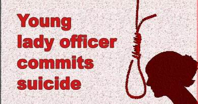 Arunachal: Young lady officer commits suicide by hanging herself at her residence