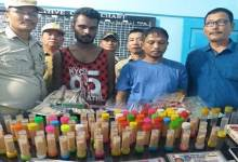 Itanagar: Capital police arrested 5 drug peddlers, recovered drugs, cash