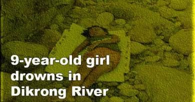 Itanagar: 9-year-oldgirl drowns in Dikrong River