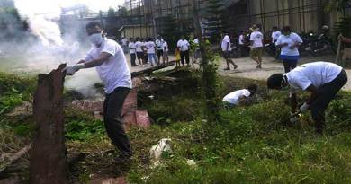 Arunachal: ACWS conducts cleanliness drive in TCC of TRIMHS