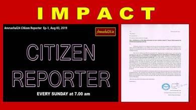 Photo of Arunachal24 Citizen Reporter's impact:TK Eng clarifies work status