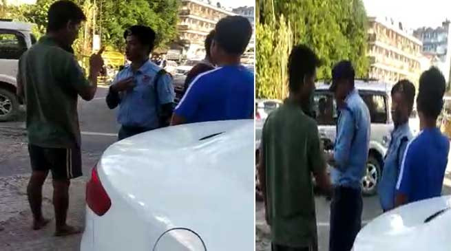 Itanagar: One IRBN Personnel arrested for misbehaving traffic warden