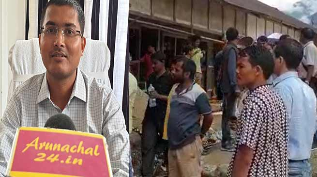 Arunachal: No threat and no extortion from traders of Koloriang- DC, SP